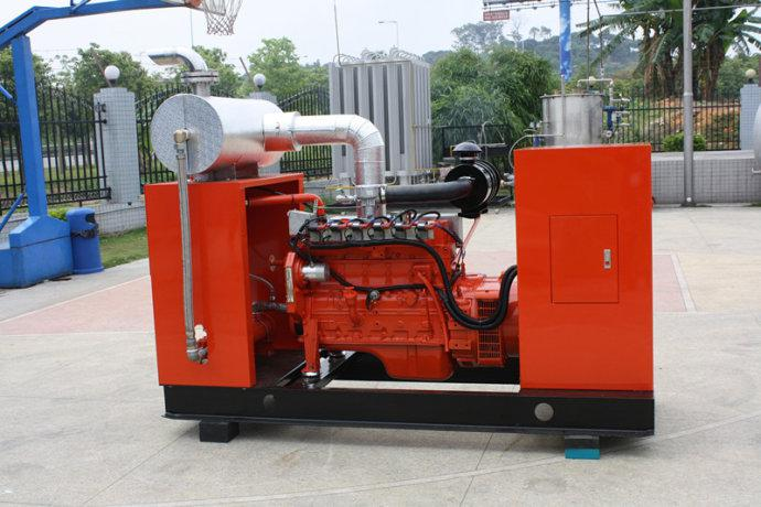 Cummins Biomass Generator
